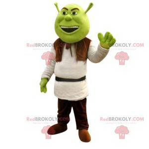 Mascotte di Shrek, famoso orco verdastro - Redbrokoly.com