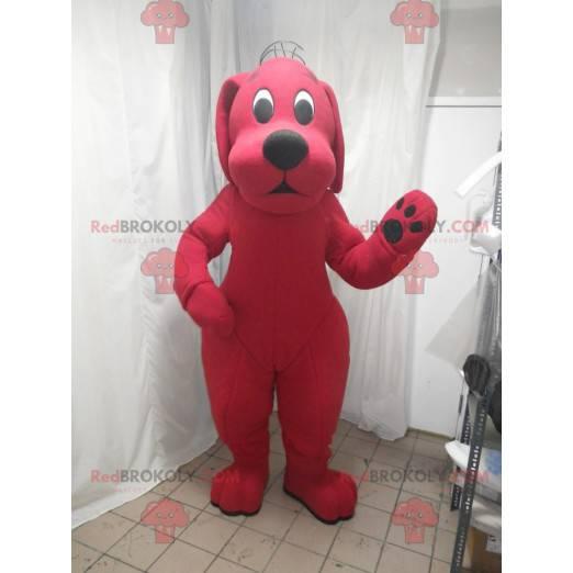 Clifford das große rote Hund Cartoon Maskottchen -