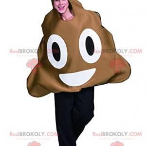 Very smiling excrement mascot - Redbrokoly.com