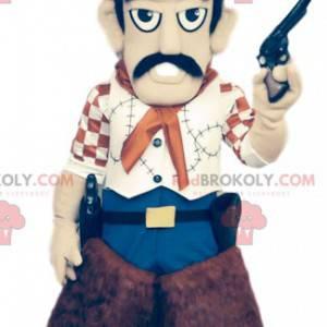 Pistolero Maskottchen mit seinem super braunen Hut -