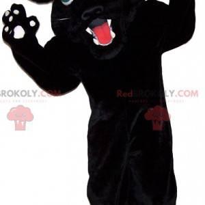 Divoký černý panter maskot - Redbrokoly.com