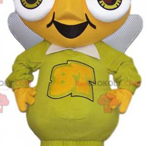 Mascote gigante e engraçado formiga amarela - Redbrokoly.com