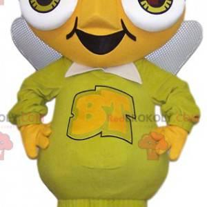 Obří a vtipný žlutý mravenec maskot - Redbrokoly.com