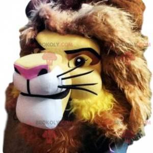 Mascot van Mufasa, het beroemde personage van de Lion King -