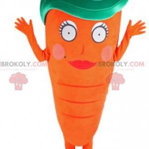 Mascote de cenoura fofo e original - Redbrokoly.com