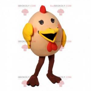 Super veselý a bláznivý maskot slepičích vajec - Redbrokoly.com