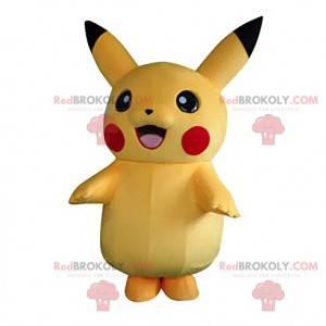 Pikachu mascot, the famous Pokemon character - Redbrokoly.com