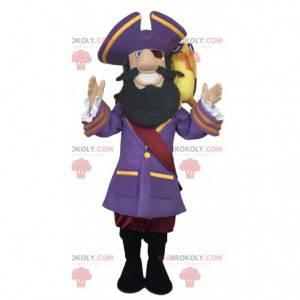 Captain Hook Maskottchen, Peter Pan Charakter - Redbrokoly.com