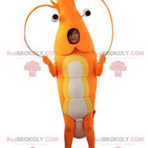 Gigantisk hummermaskot og dens store antenner - Redbrokoly.com