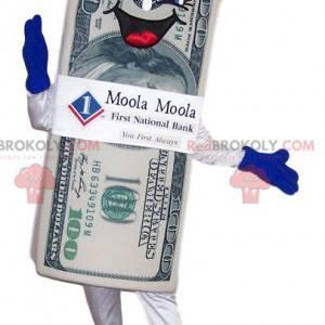 Super enthusiastic $ 100 bill mascot - Redbrokoly.com