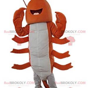 Cheerful and fabulous lobster mascot - Redbrokoly.com