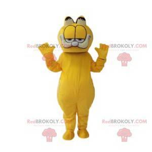 Mascota del gato Garfield, el comedor de lasaña - Redbrokoly.com