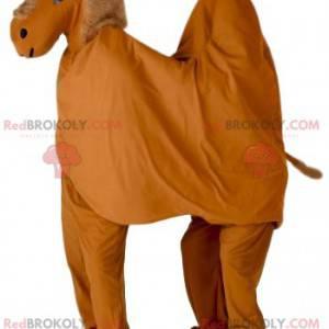 Mascote dromedário marrom - Redbrokoly.com
