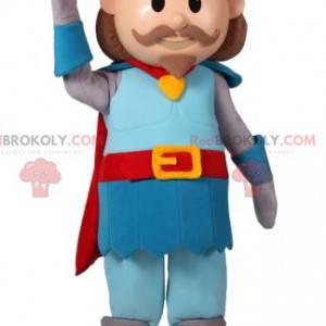 Prins mascotte met een mooie kroon - Redbrokoly.com
