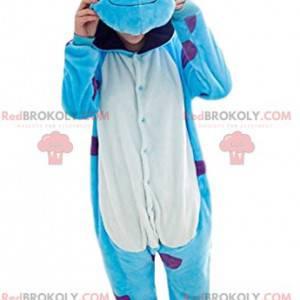 Mascote de Sully, o monstro turquesa de Monstres e Cie -