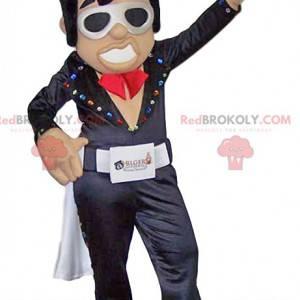 Super lustiges Rock'n'Roll-Tänzer-Maskottchen - Redbrokoly.com