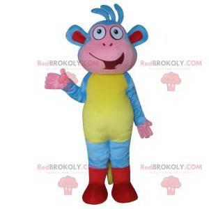 Mascote Babouche, o macaco em Dora, a Exploradora -