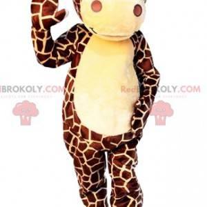 Mascote girafa majestosa - Redbrokoly.com