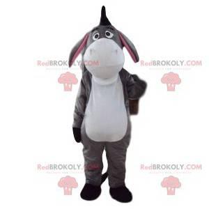 Eeyore mascot, faithful friend of Winnie the Pooh -