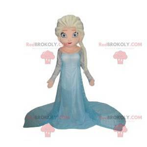 Mascot Elsa, la Princesa de la Reina de las Nieves -
