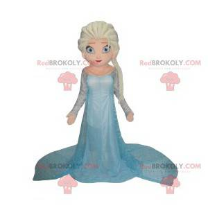 Mascotte Elsa, la principessa della regina delle nevi -