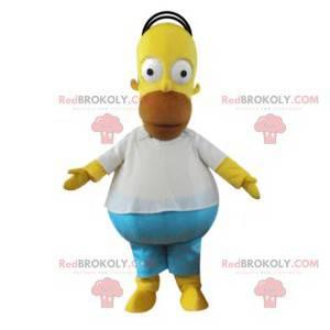 Mascota de Homer, personaje de la familia Simpson -