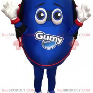 Modré vejce maskot. Vejcový kostým - Redbrokoly.com
