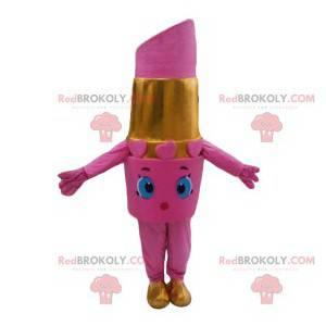 Pink lipstick mascot - Redbrokoly.com