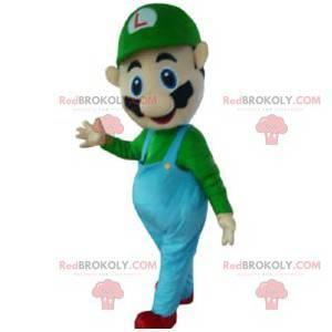 Mascotte Luigi, personaggio di Mario Bros, Nintendo -