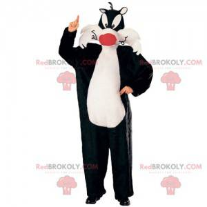 Mascotte Sylvester, de kat van Cartoon Titi & Grosminet -