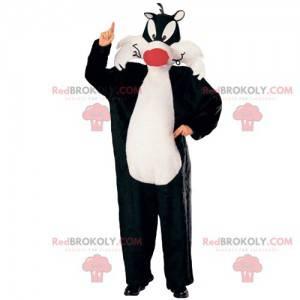Maskottchen Sylvester, die Katze von Cartoon Titi & Grosminet -