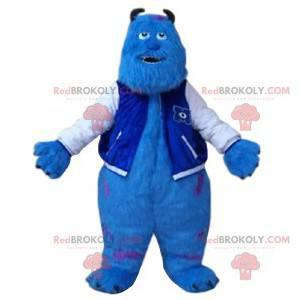 Mascot Sulli, het turkooizen monster van Monsters, Inc. -
