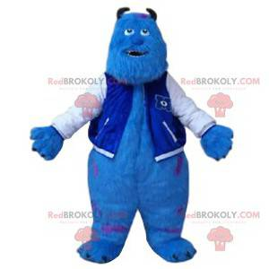 Mascot Sulli, the turquoise monster of Monsters, Inc. -