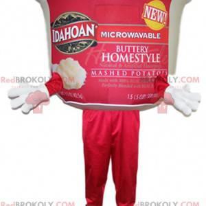 Maskottchentopf mit zubereitetem Brei. Mash Pot Kostüm -