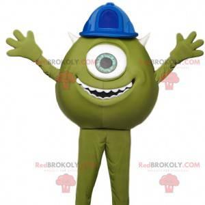 Mascot Bob, de groene mini-cyclops van Monstres & Cie -