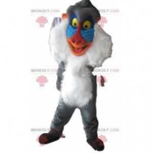 Mascot Rafiki, the old monkey of the Lion King - Redbrokoly.com