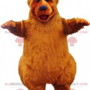 Red bear mascot with beautiful fur. - Redbrokoly.com