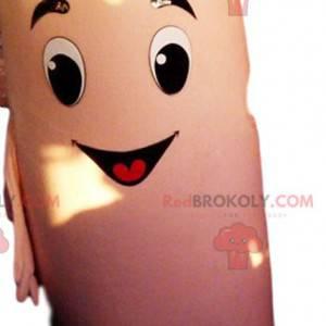 Veldig smilende kondom maskot. Kondom-kostyme - Redbrokoly.com