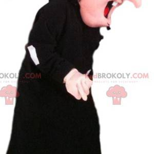 Maskottchen Gargamel, der Bösewicht der Schlümpfe -