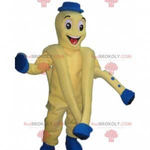 Octopus mascot with blue dots. Octopus costume - Redbrokoly.com