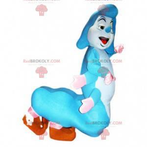 Mascotte van de blauwe rups uit Alice in Wonderland! -