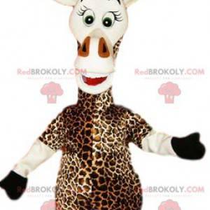 Mascote girafa muito bonita. Fantasia de girafa - Redbrokoly.com