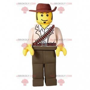 Playmobil-Maskottchen im Cowboy-Outfit - Redbrokoly.com