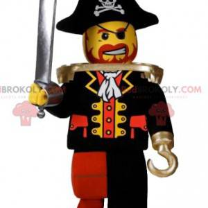 Mascota pirata de playmobil con un hermoso sombrero -