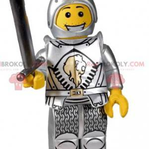 Mascote do cavaleiro Playmobil. Fantasia de cavaleiro -