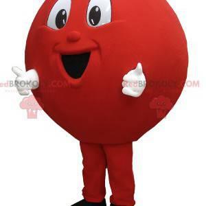 Balloon Bowling Ball Big Red Ball Mascot - Redbrokoly.com