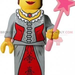 Mascote da princesa playmobil. Fantasia de princesa -