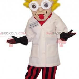 Maskot Dr. Emmett Brown, postava z Zpátky do budoucnosti -