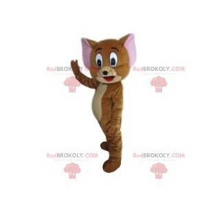 Mascot Jerry, el ratón de la película animada Tom y Jerry -