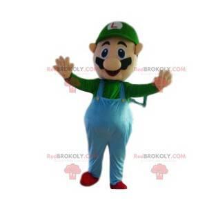 Mascot Luigi, ledsager af Mario Bros - Redbrokoly.com
